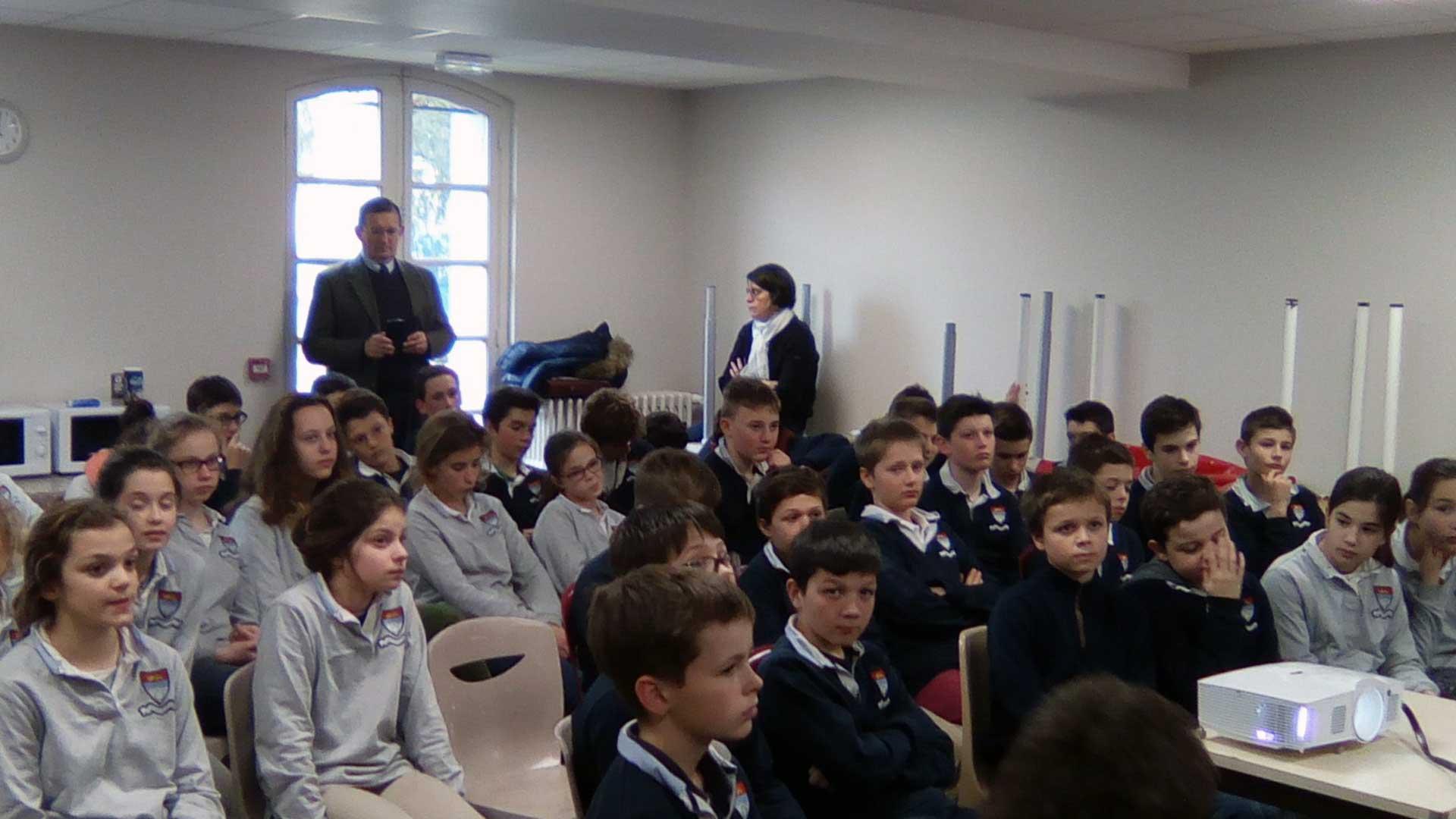 Le collège Saint-Fort soutient les Chrétiens d'Orient