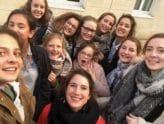 Les filles de 4ème et de 3ème visitent la maison de retraite Grand Bon Pasteur