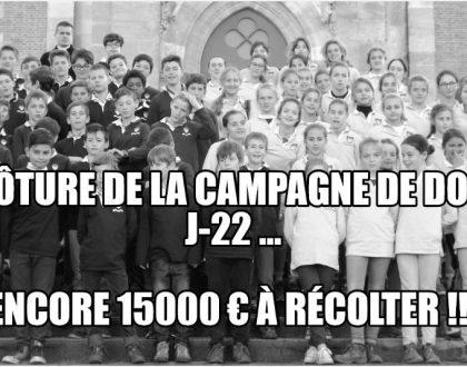 La campagne de dons du collège Saint-Fort continue !