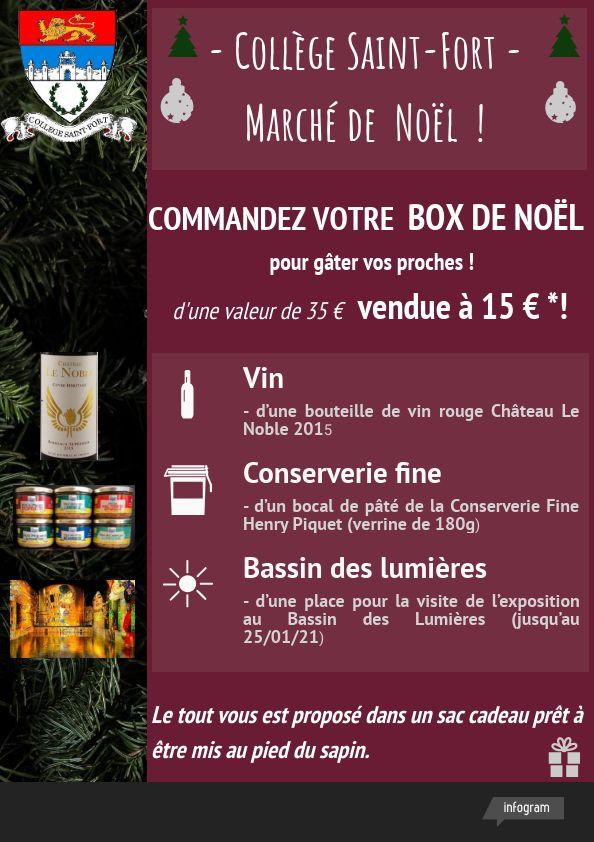 Commandez vos box de Noël  !