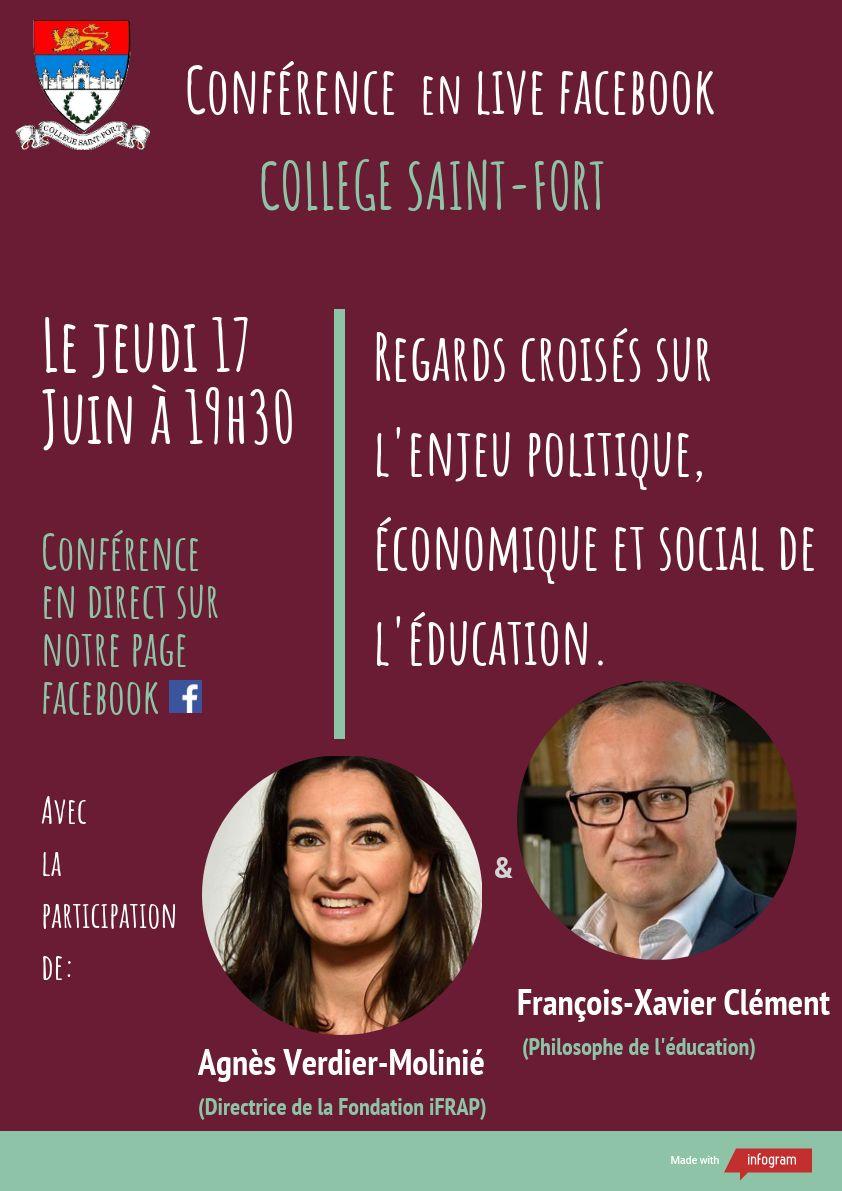 Conférence en direct sur facebook
